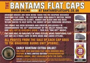 Bantams Flat Caps - Leaflet A5 REVISION 2