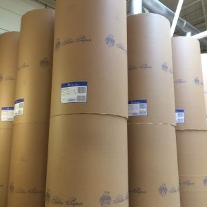 Paper storage - rolls are 2211mm tall