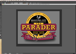 The Parader logo (work in progress)